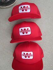 3 Vintage Winchester Gun Trucker Fishing Snap Back Mesh Hat Caps 1980's hats