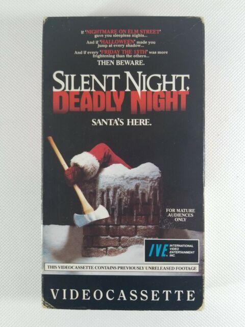 RARE 1986 silent night deadly night vhs