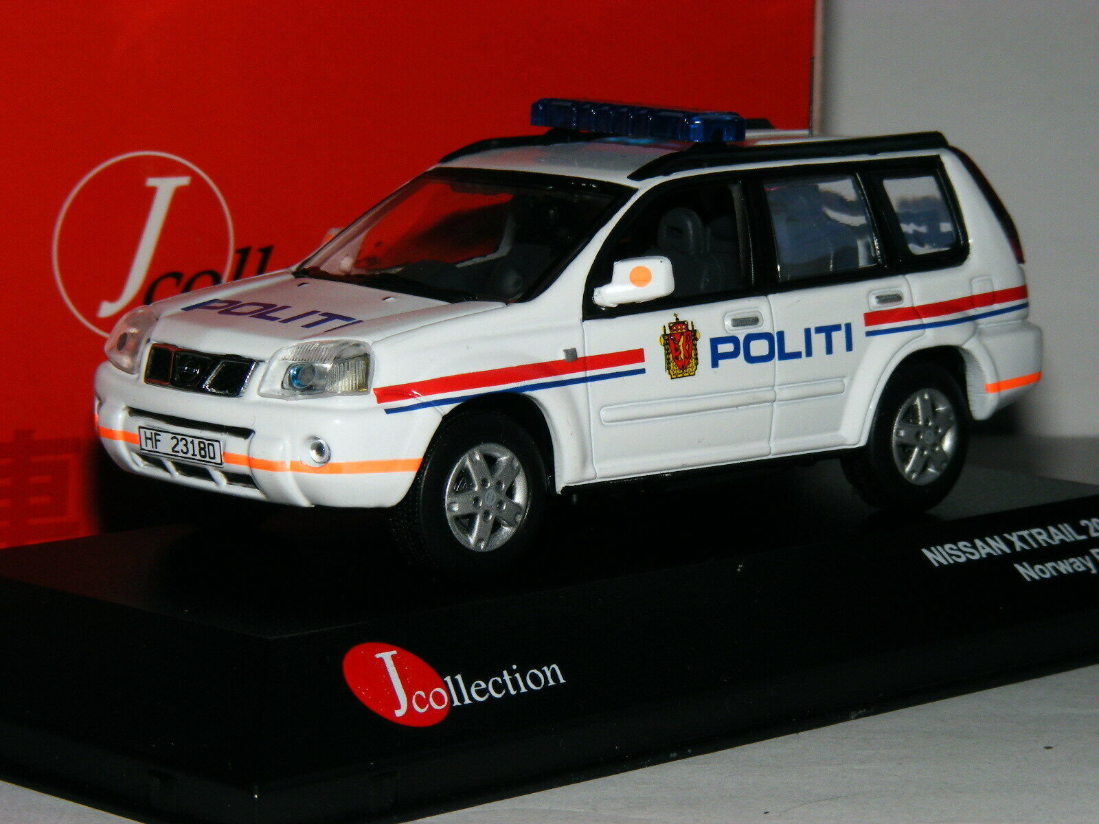 J-Collection JC089 2006 Nissan Xtrail Norwegian Police 1 43