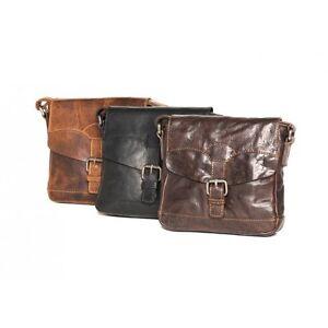 Image Is Loading Leather Bag Addison Genuine Handbag Oran