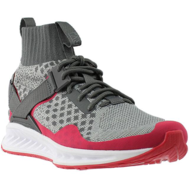 7e1384fe35 PUMA X Staple Ignite Evoknit Mens Gray Textile Athletic Training Shoes 10