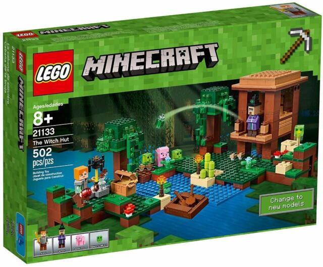 """Sorcière Minecraft 3/"""" ACTION FIGURE"""