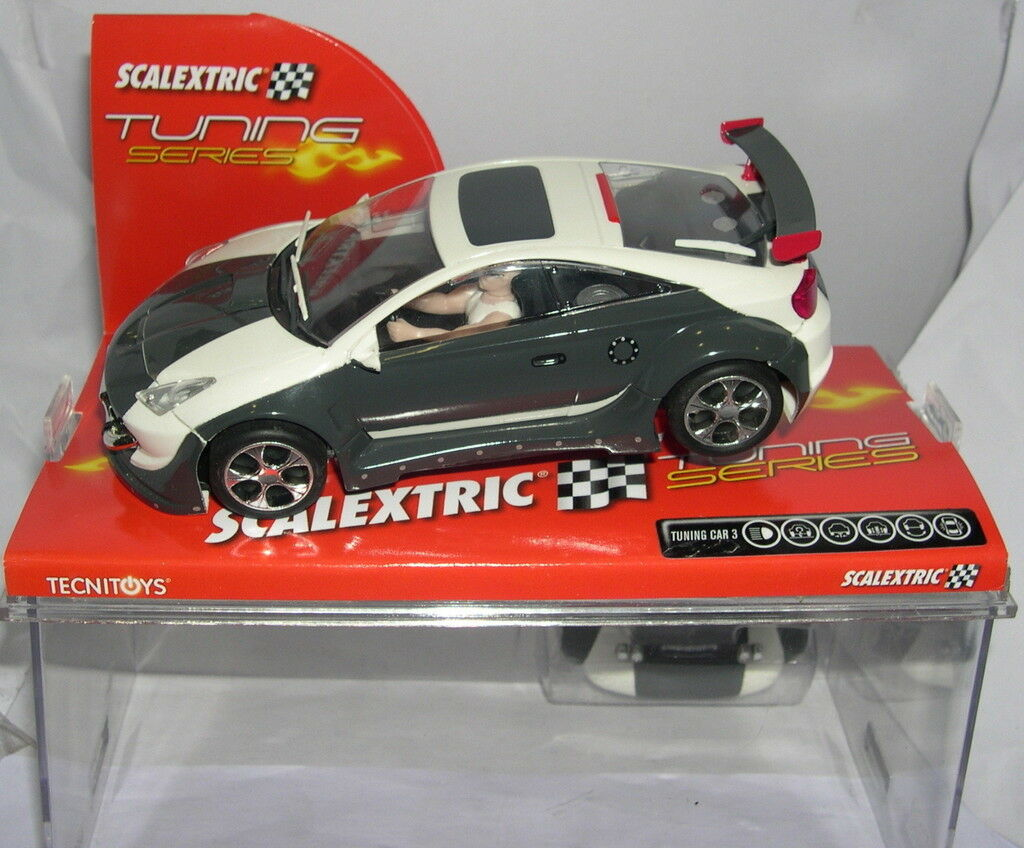 Qq SCALEXTRIC  6254 TUNNING Coche 3   STREET Coche   MB