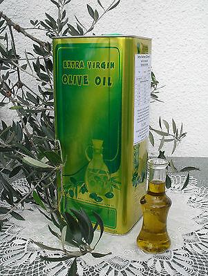 5 Liter / 5 L Unser Griechisches Olivenöl, Extra Nativ Unfiltriert, Säure 0,2