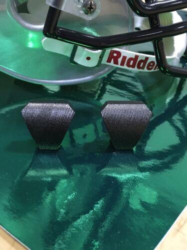 Unbranded Football Helmet Visor Eye Shield QUICK-RELEASE Clips BLACK