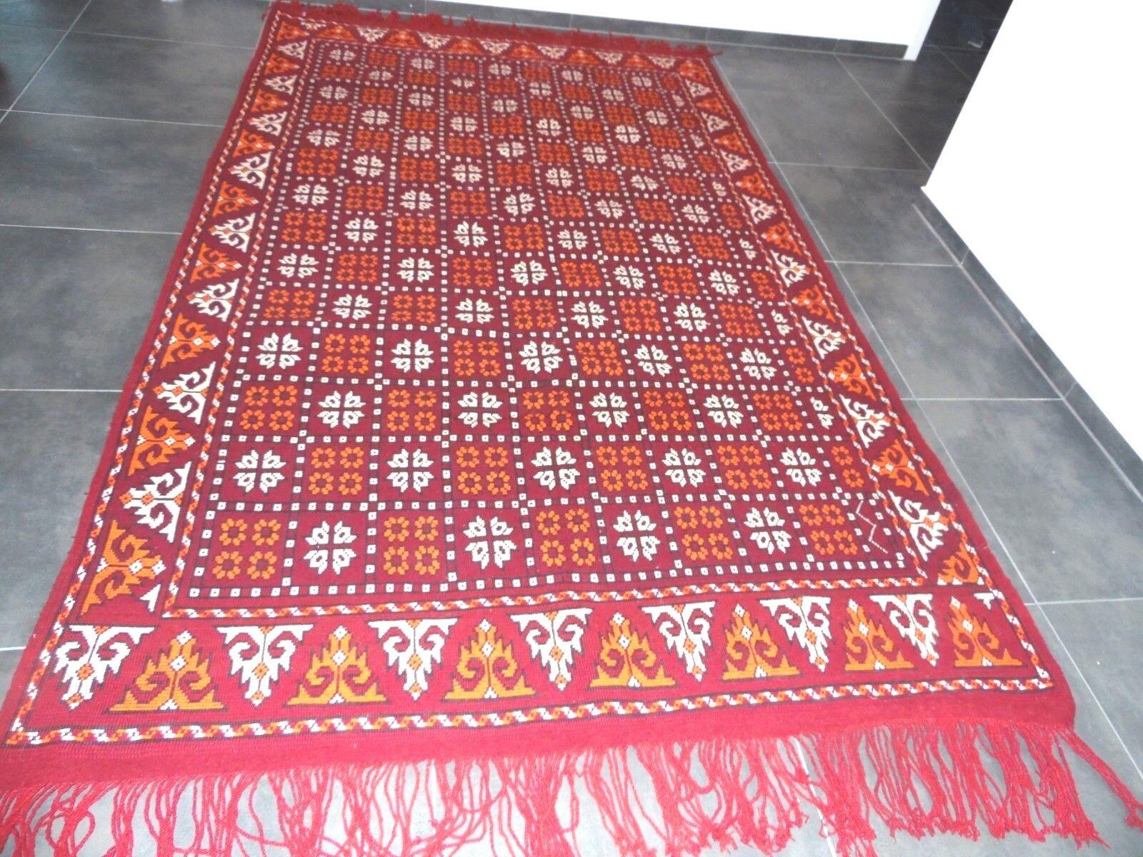 L. k. Orient alfombra de 3.2 M X 1.78 M de mano de lana virgen