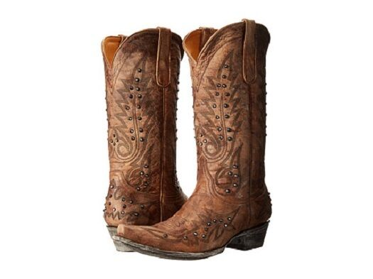 New in Box  Women's Old Gringo Nevada CRYSTAL Boot Galaxia Gold Retail $ 665