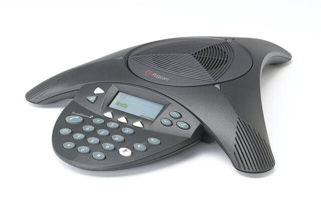 Polycom Soundstation 2 LCD conferencias de audio Teléfono un grado | 12 meses de garantía