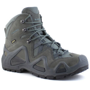 3eb0ae94295 Details about Lowa Zephyr GTX Mid TF Men's Tactical Waterproof Gore-Tex  Walking Boots Grey