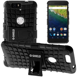 innovative design ac268 c10ce Details about G-Shield® Shockproof Heavy Duty Hard Stand Case Cover For  Huawei Google Nexus 6P