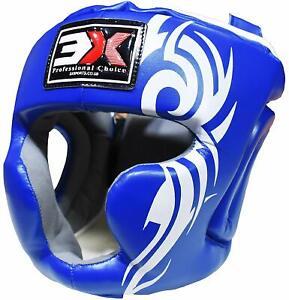 3xSports Head Guard MMA Protective Gear Face Protection Boxing Helmet Kick Xmas
