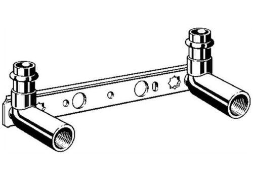 Viega Sanpress Montageeinheit 15 mm x 80 100-150 200 Wandscheibe Deckenwinkel