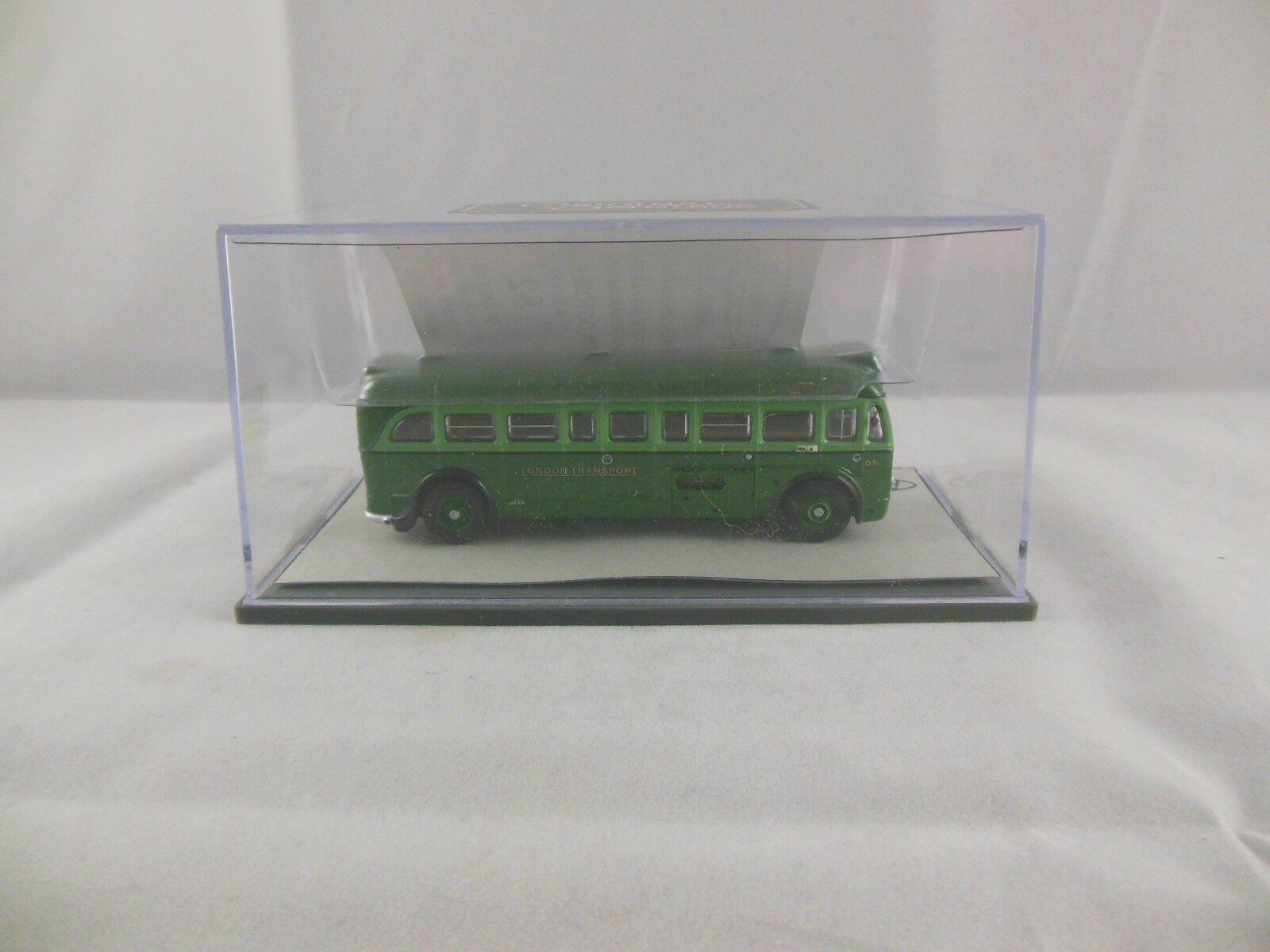 CODICE 3 3 3 RARA Corgi OOC AEC Q un piano Autobus Trasporto Londinese Scala 1 76 Ltd. ed. 05d5c2