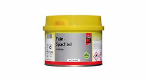 Auto K Feinspachtel 1kg Spachtelmasse Kunststoff Metall Keramik inkl. Härter