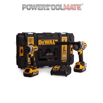 Dewalt DCK276P2 Combi Drill and Impact Driver XR 18V Brushless Kit (2 x 5.0Ah)