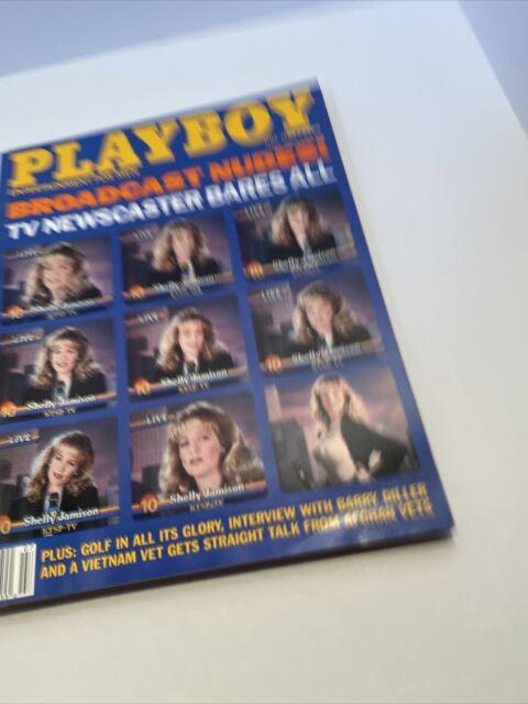 VTG Playboy Magazine Shelly Jamison Cover w/Erika Eleniak