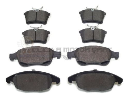 CITROEN BERLINGO BERLINGO VAN 1.6 1.6 HDi 08-17 FRONT AND REAR BRAKE PADS