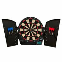 Best Electronic Dart Board Electric With Plastic Cabinet Arachnid Game Room 18