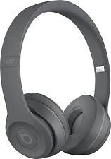 Beats By Dr Dre Solo3 Wireless Headphones Asphalt Gray Mpxh2ll A For Sale Online Ebay