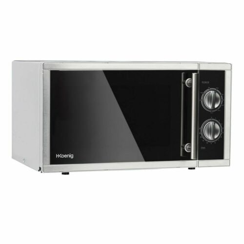 Hkoenig VIO7 Stainless Steel Microwave with Grill 23l 900/1000W 3760124950618