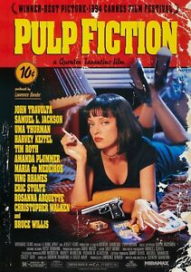 PULP-FICTION-Movie-PHOTO-Print-POSTER-Film-Art-Quentin-Tarantino-Uma-Thurman-002