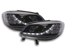 Scheinwerfer Daylight LED TFL-Optik Opel Zafira A Bj. 99-04 schwarz Scheinwerfer