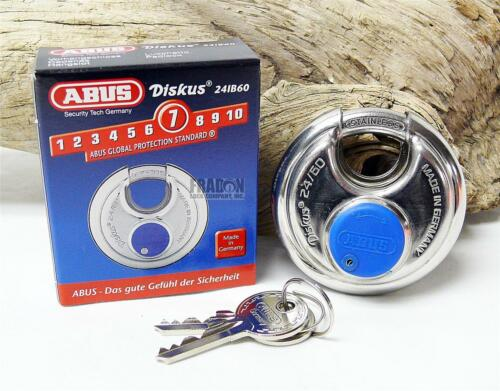 Abus 24IB//60 Weather High Security Diskus Padlock Storage Unit Made in Germany