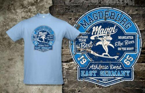 """4XL oder 3XL   FCM Tshirt 1.FC Magdeburg /""""Maggi/"""" Gr FAN *NEU*"""