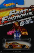 Movie 2 Fast & 2 Furious 94 Toyota Supra  1:64 Hot Wheels USA