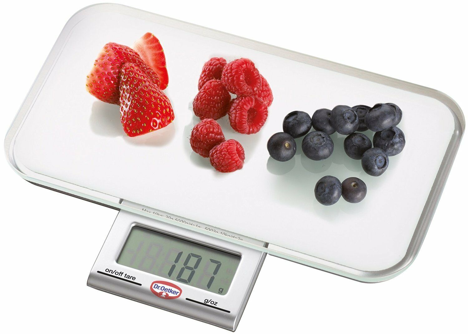 Dr. Oetker 1535 Digital Baking Scale with Pull Out Display