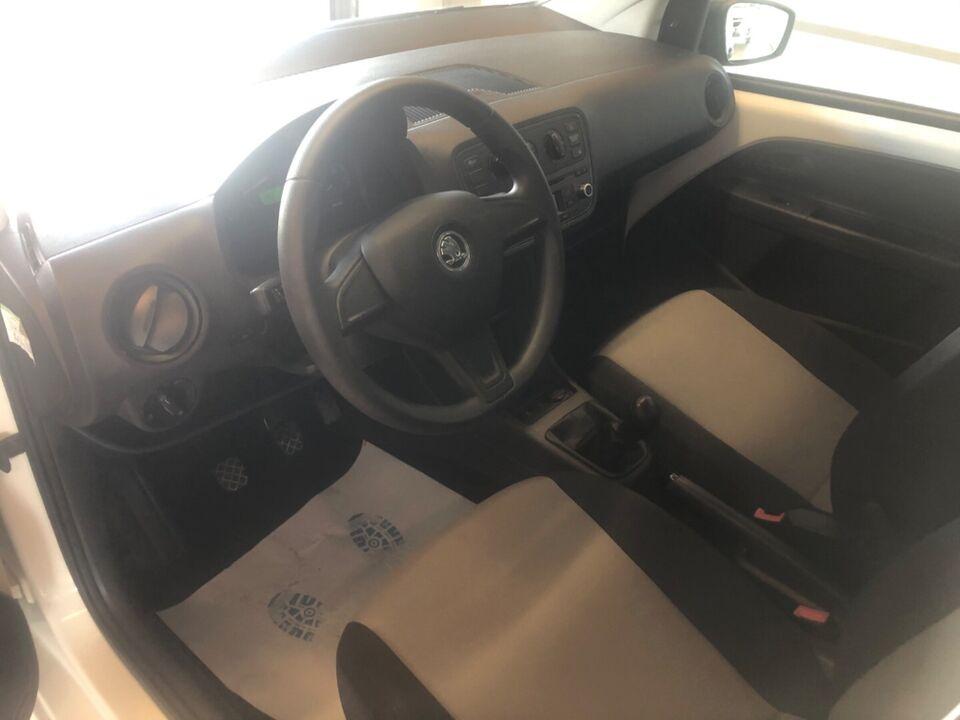 Skoda Citigo 1,0 60 Active GreenTec Benzin modelår 2015 km