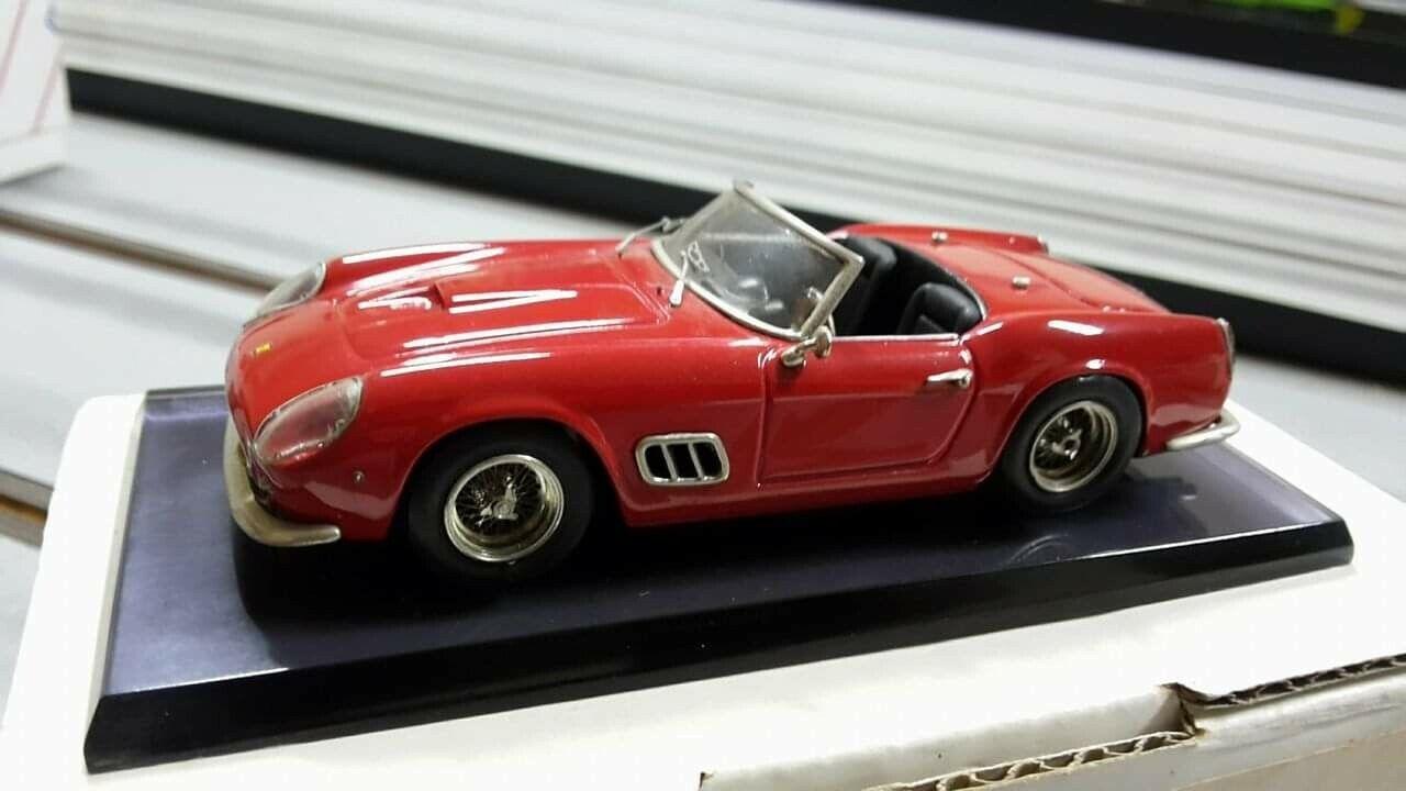 1 43 AMR Ferrari 250 GT California Red Professional Built MEGARARE N Bosica