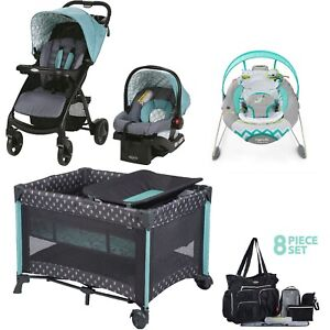 Graco Baby Combo Set Stroller With Car Seat Playard Automatic