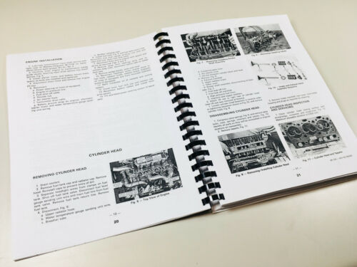 COMB BOUND FACTORY SERVICE MANUAL FOR MASSEY FERGUSON 235 TRACTOR