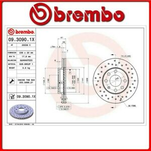 09-3090-1X-4-DISCO-FRENO-ANTERIORE-SPORTIVO-BREMBO-XTRA-CHEVROLET-KALOS-Saloon-1