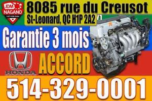 Moteur Honda Accord 2.4 K24 2003 2004 2005 2006 2007, 03 04 05 06 07 Honda Accord K24A Engine, Motor City of Montréal Greater Montréal Preview