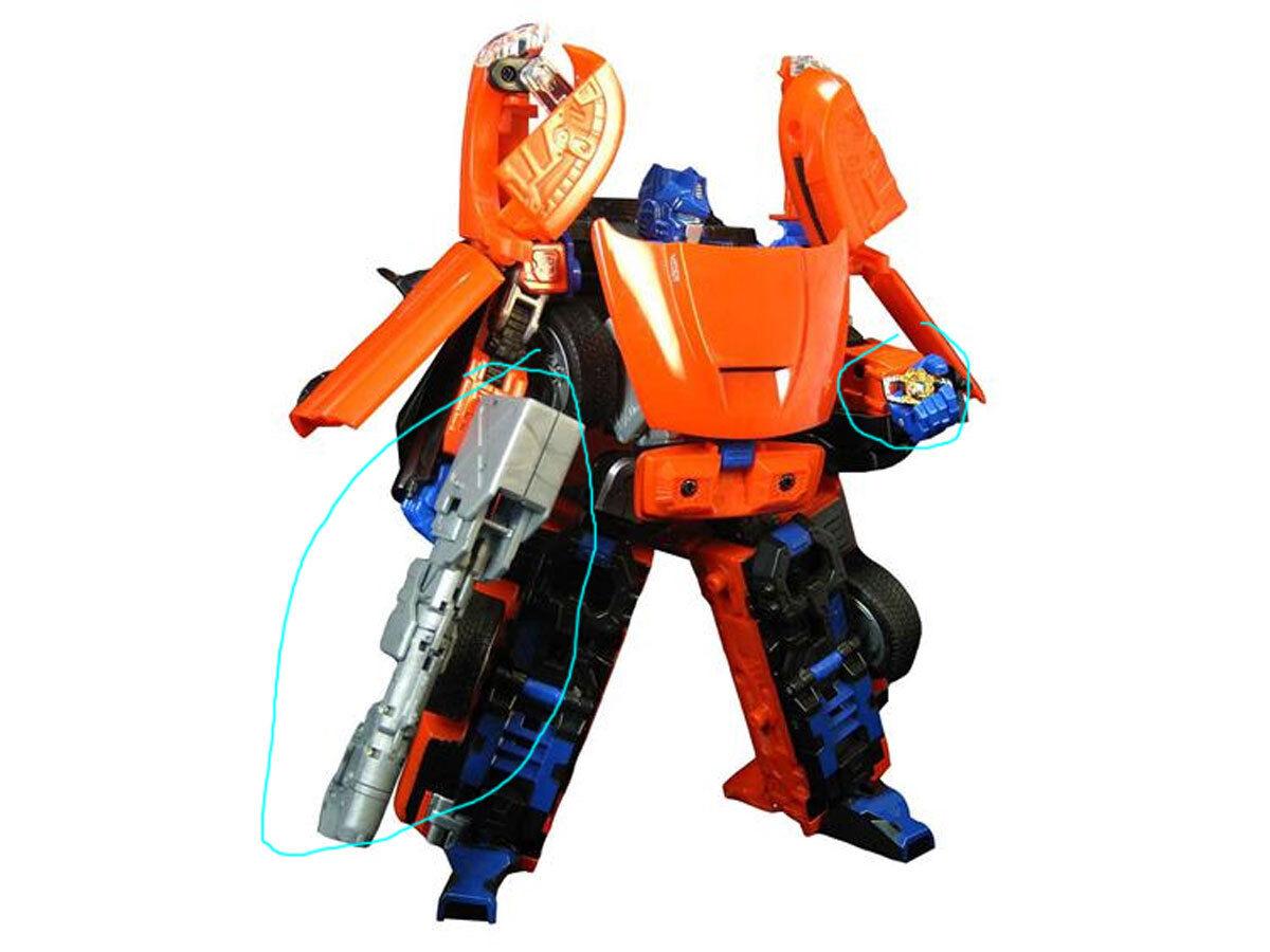 Transformers FANSPROJECT rare rare rare Binaltech Optimus Alternators UPGRADE TFX ABT 01 93da64
