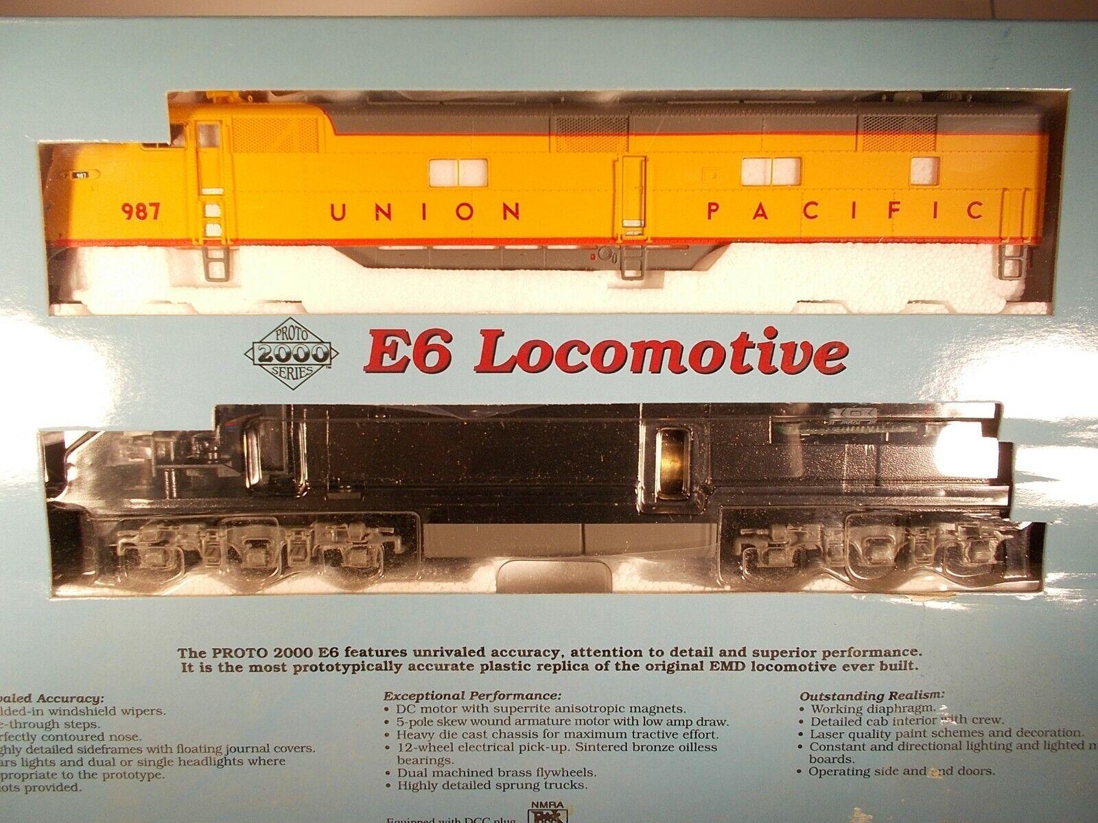 Proto 2000 HO Scale Union Pacific E-6  987