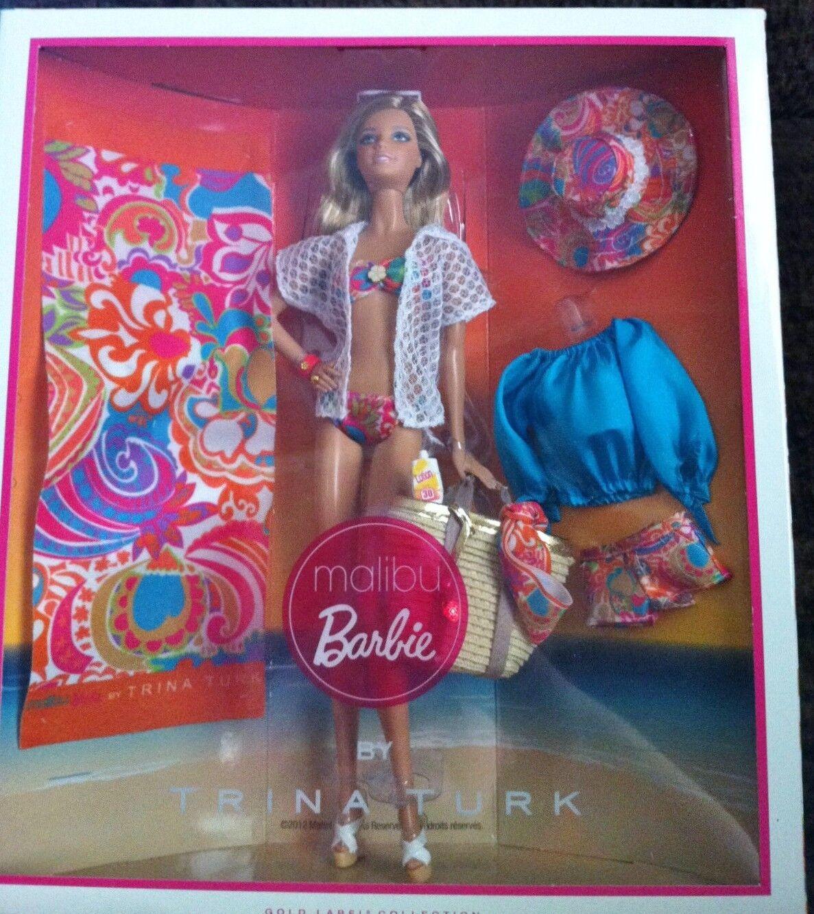 Malibu Barbie by Trina Turk 2013  X8259 Bill Grüning Gold Label NRFB