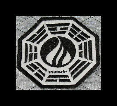 "LOST Dharma Initiative Embroidered patch ""Flame"""