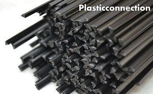4mm black LDPE Plastic welding rods pack of 30 pcs //triangular shape//