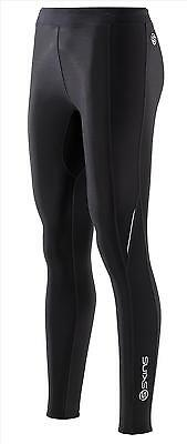 Skins Compression A200 Womens Long Tights - FREE postage - (Black / Black)
