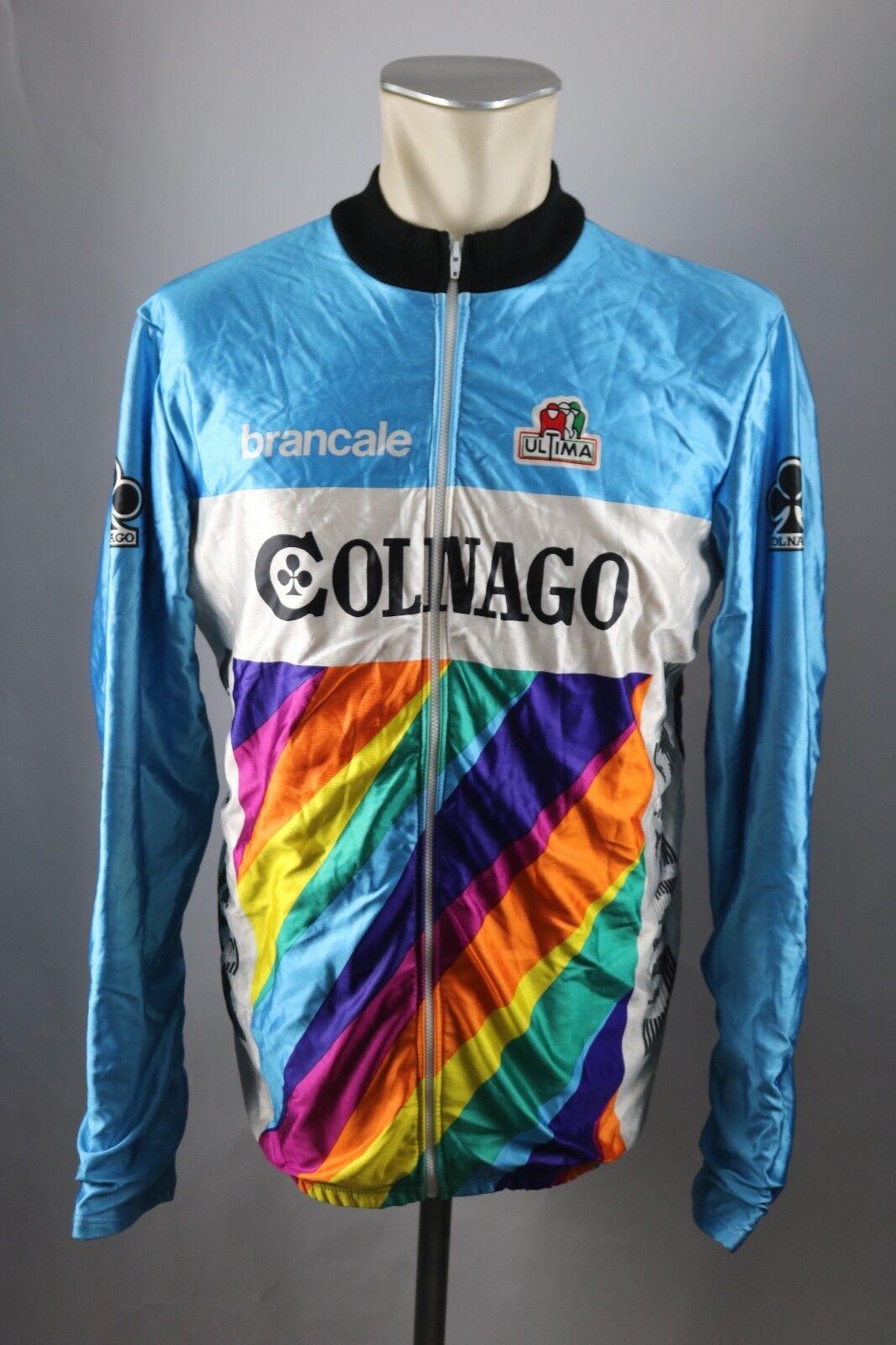 Ultima vintage brancale Colnago Jacke Gr. 6 BW 57  Bike cycling jacket Shirt S5