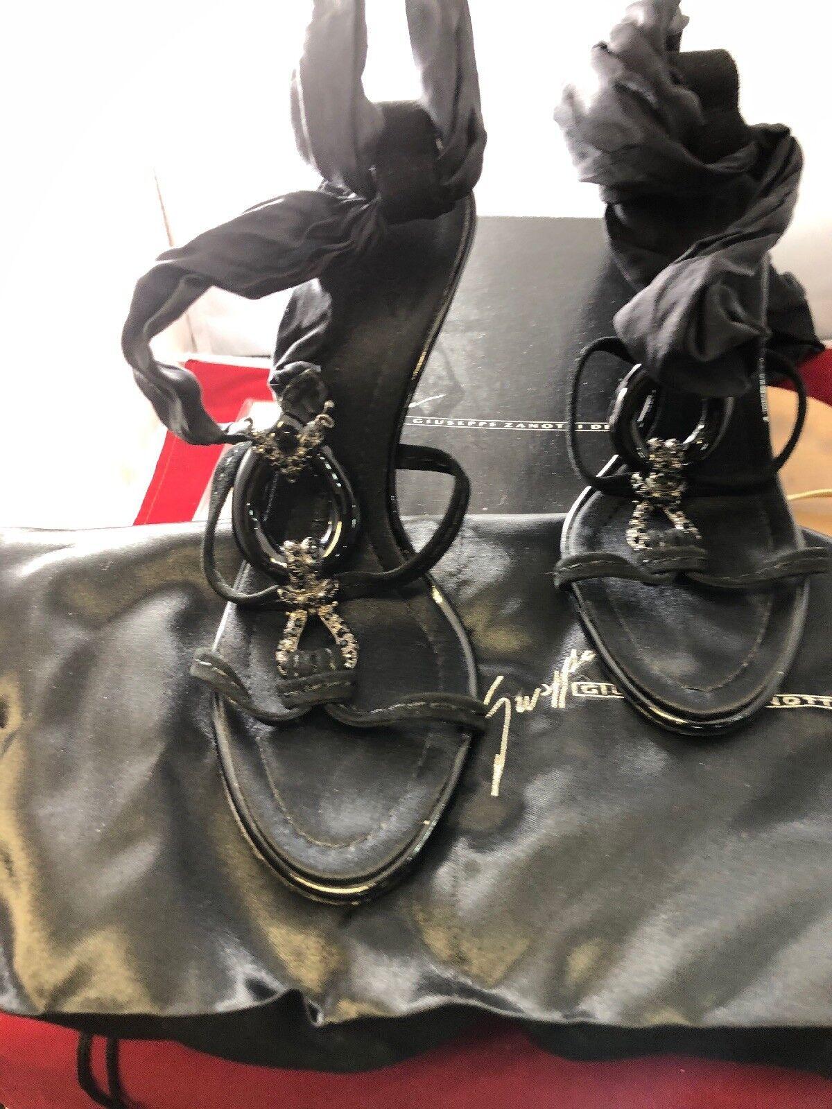 esclusivo Auth Rare Classic Vintage Moving Sale Giuseppe Zanotti scarpe 35 35 35 U Choose  migliore offerta