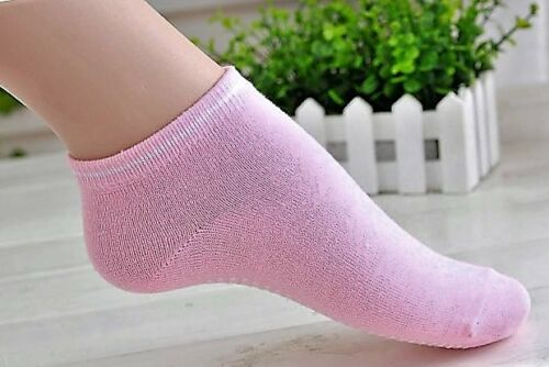 NON SLIP PILATES YOGA COTTON SPORTS GRIP SOCKS FITNESS EXCERCISE GYM LAIDES