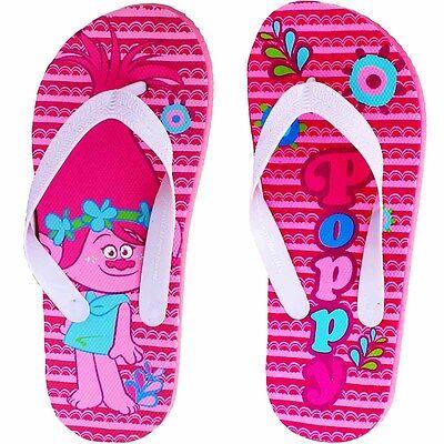 Dreamworks Flip Flop Kids-Trolls película-Feliz pies de tamaño 9 -2 Adultos