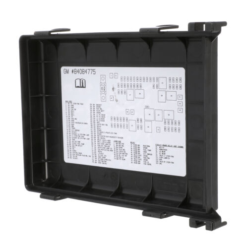 OEM Electrical Fuse Relay Panel Upper Cover Express Savana 2500 3500 84084775