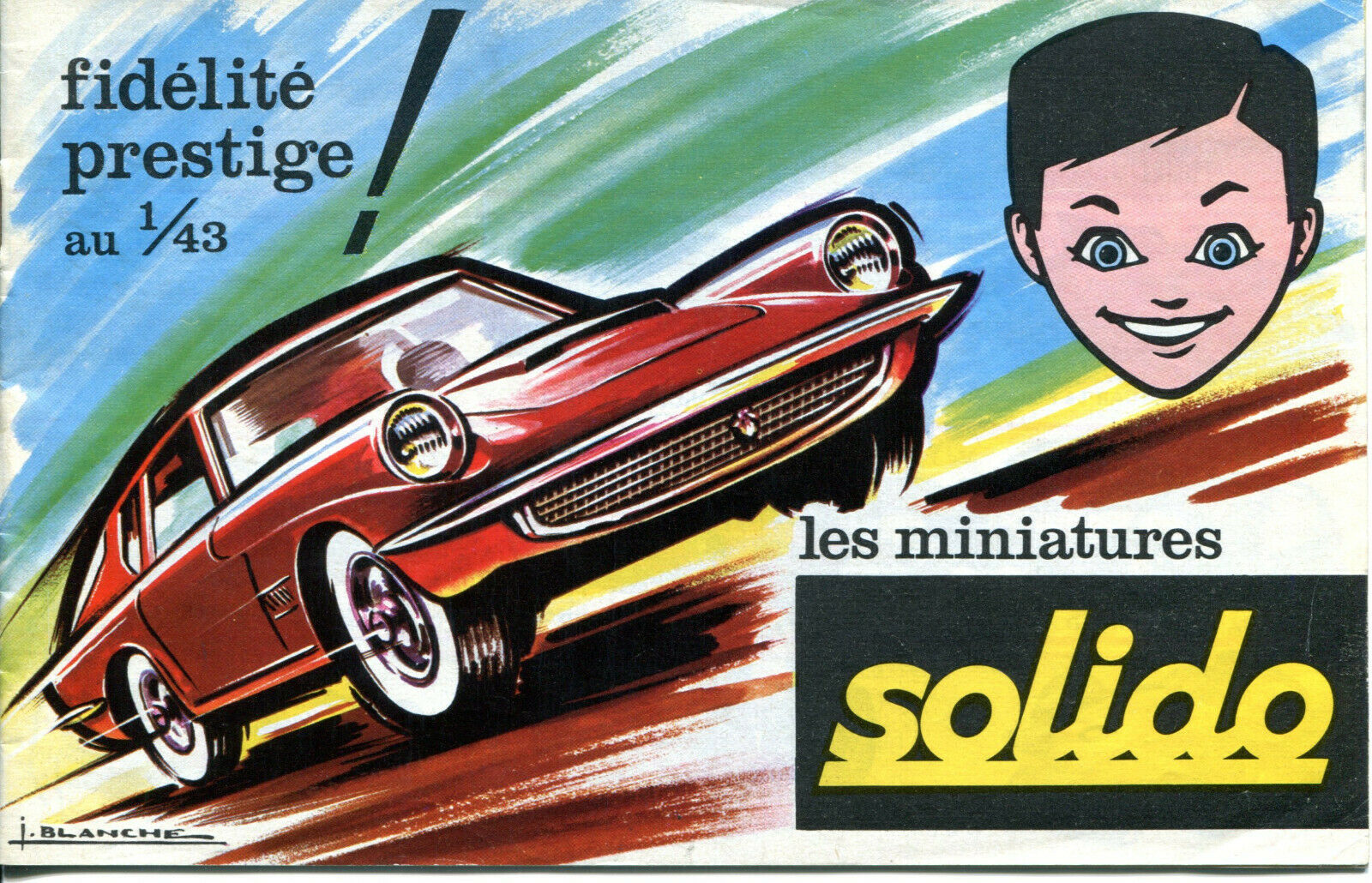 SOLIDO 1966 Catalog 1/43 Scale Models (In French and English) ULTRA-RARE!