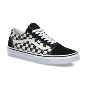 2d5026d2ed Vans OLD SKOOL Primary Check Mens Shoes  NEW Checkers CHECKERBOARD ...
