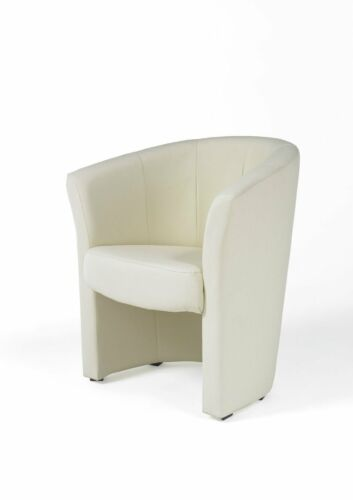 Cocktailsessel Clubsessel Loungesessel Bürosessel Salyn Creme
